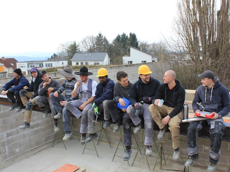 Mauerwerksbau Ausbildungszentrum der Bauhandwerksinnung Limburg/ Weilburg